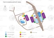Tokyo Haneda Airport map